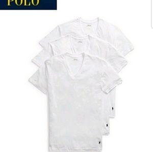 POLO T Shirts  3 Pack  White  New XL